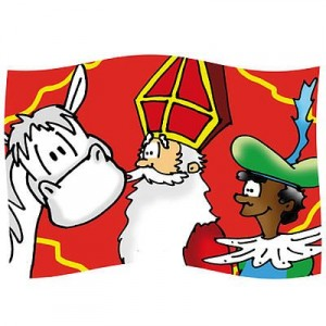 Gevelvlag-Sint-cartoon