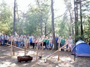 Regio Drenthe Scouting kampeerweekend