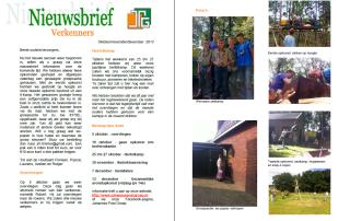 Nieuwsbrief Verkenners Johannes Post Groep Scouting Assen