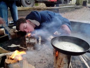 Rowans maken Lets Vuur
