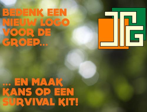 Ontwerp een nieuw logo en maak kans op een Bear Grylls Survival Kit