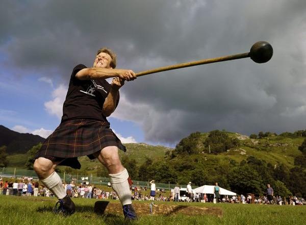 Vanavond Highland games op laatste opkomst van het seizoen