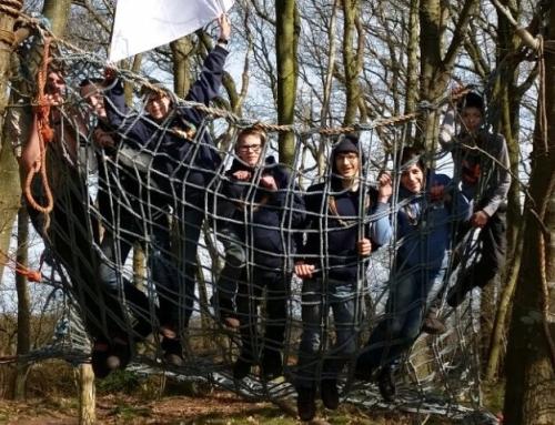 Verkenners hebben top weekend bij Taribush in Dwingeloo