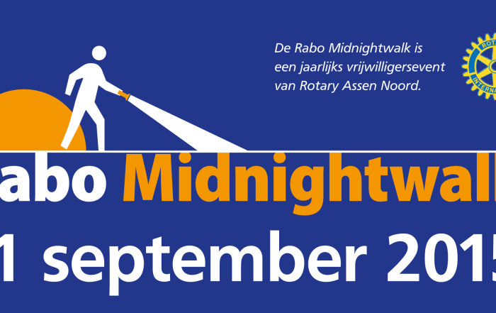 Poster Rabo Midnightwalk