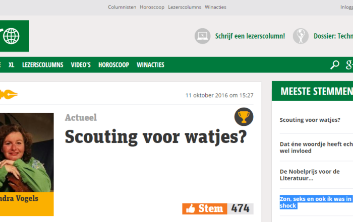 Scouting voor Watjes - Metro