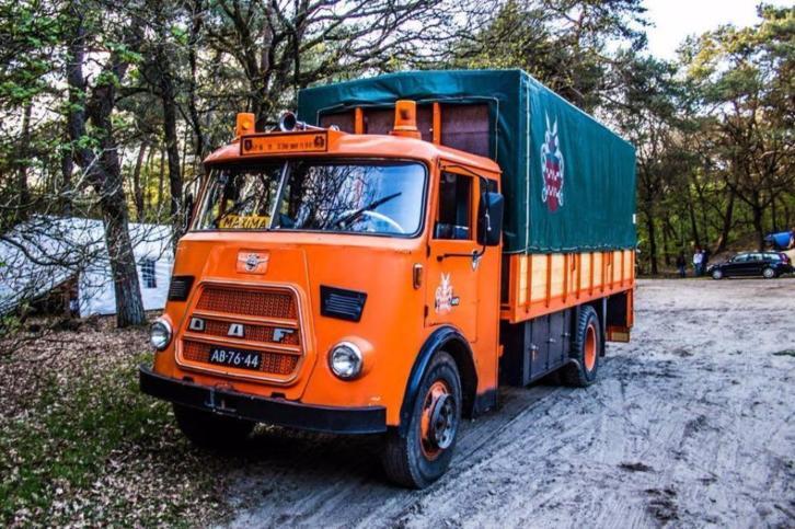 Klassieke Vrachtwagen DAF