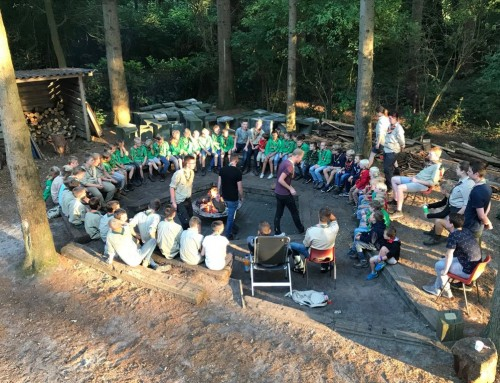 Scoutingseizoen bijna ten einde