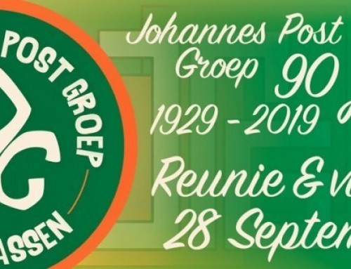 Jubileum Scouting Johannes Post Groep: 28 september