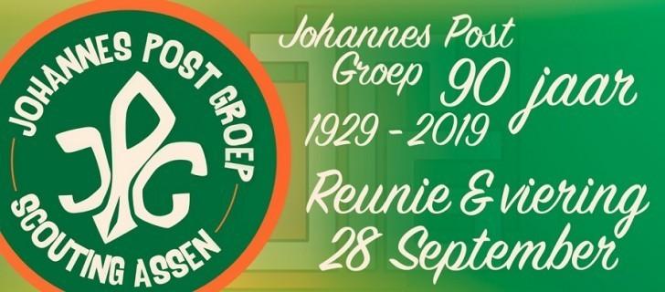 Jubileum Scouting Johannes Post Groep: 28 september