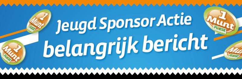 Belangrijk bericht Poiesz Jeugd Sponsor Actie -> Actie gestopt en 1000 euro voor de JPG