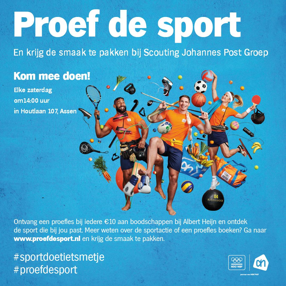 Proef scouting en krijg de smaak te pakken bij de Johannes Post Groep!