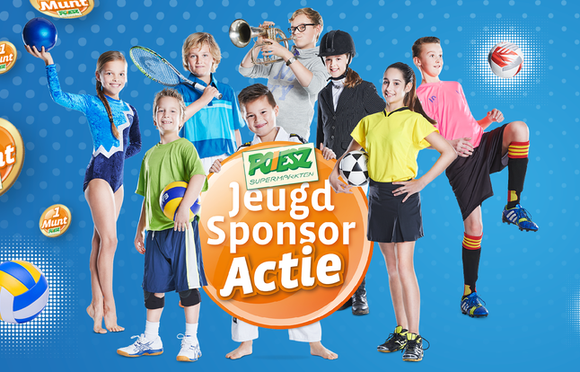 Spaar mee voor de JPG tijdens de Poiesz Jeugd Sponsor Actie!